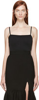 Esteban Cortazar Black Sleeveless Bodysuit