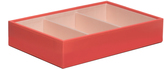 Wolf Medium Deep Stackable Tray, Coral