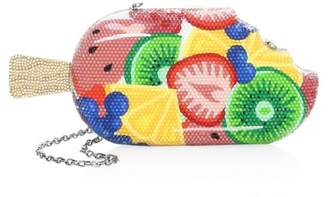 Judith Leiber Couture Frozen Fruit Popsicle Crystal Clutch