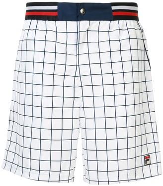 Fila Checked Bermuda Shorts