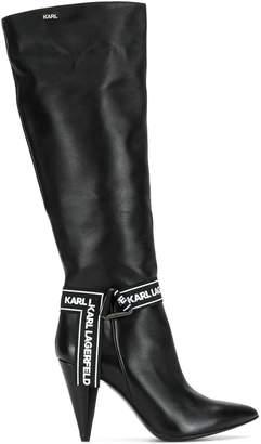 Karl Lagerfeld Paris Montero slouchy boots