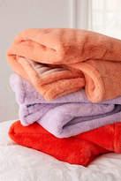 Urban Outfitters Sylvie Plush Throw Blanket