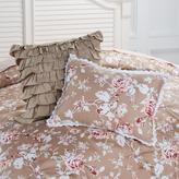 Cottage Collection Pintuck Decorative Cotton Pillow Duo