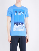 HUGO BOSS Logo-print cotton-jersey T-shirt