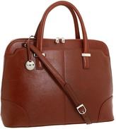 Knomo Rubi Dome Top Zip (Cognac) - Bags and Luggage