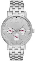 Merona Women's Five Link Bracelet Watch Silver