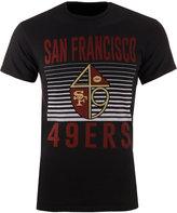Junk Food Clothing Men's San Francisco 49ers Block Shutter T-Shirt