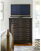 Universal Furniture Moderne Muse Media Chest in Cobalt Finish