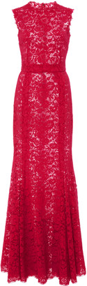 Dolce & Gabbana Sleeveless Lace Gown