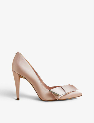 Ted Baker Daysii pointed-toe satin courts