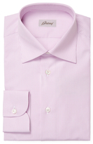 Brioni Cotton Stripes Dress Shirt