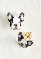 Best-Dressed in Show Earrings in Dog
