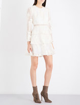 Zimmermann Maples Tier silk-organza mini dress