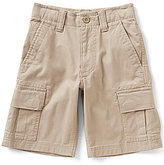 First Wave Big Boys 8-20 Stretch Cargo Shorts
