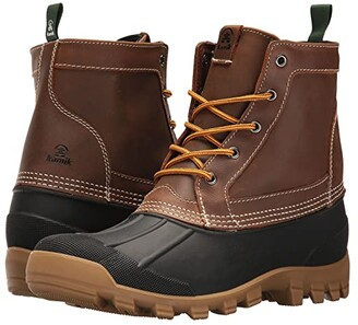 Kamik Yukon 5 (Dark Brown) Men's Cold Weather Boots