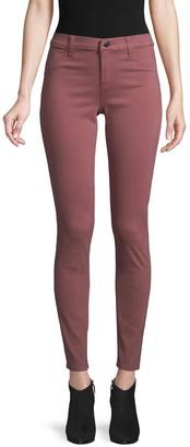 J Brand 485 Super Skinny Sateen Jeans