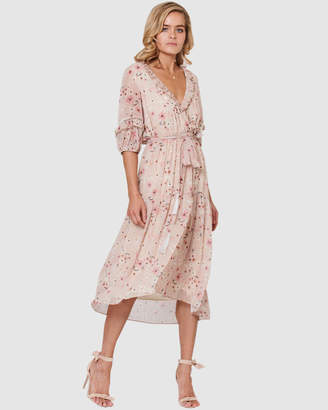Three of Something Romance Floral Star Dress