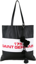 Sonia Rykiel printed shopper tote - women - Leather - One Size