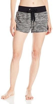 2xist Women's Micro French Terry Space Dye Short