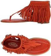 Tod's Toe strap sandals
