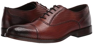 Steve Madden Mantel Oxford (Tan Leather) Men's Shoes