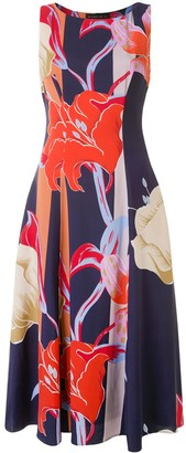 Etro Sleeveless Floral-Print Dress