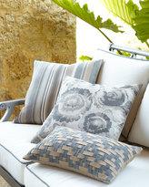 Elaine Smith Smoky Floral Outdoor Pillow