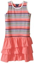 Toobydoo Ruffle Tank Dress (Toddler/Little Kids/Big Kids)