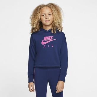 Nike Big Kids (Girls) Cropped Hoodie