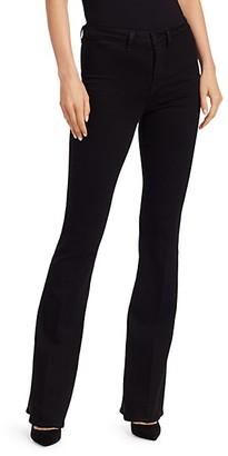 L'Agence Joplin 70s High-Rise Flare Jeans