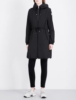 Moncler Tuile hooded shell coat