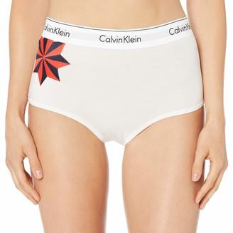 Calvin Klein Women's Modern Cotton High Waist Hipster