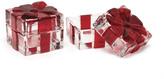 Mikasa Celebrations by Holiday Treats Set of 2 Square Boxes