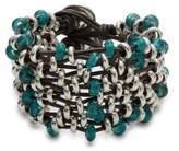 Uno de 50 Alba At Dawn Leather Strands Bracelet