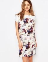 BOSS ORANGE By Hugo Boss Floral Print T-Shirt Dress