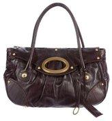 Dolce & Gabbana Paneled Eel Shoulder Bag