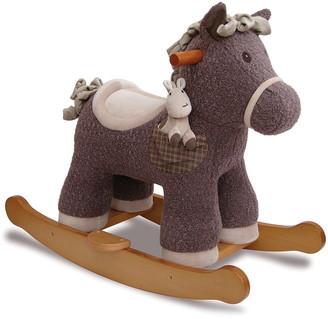 Little Bird Told Me Bobble & Pip Rocking Horse & Stuffed Animal