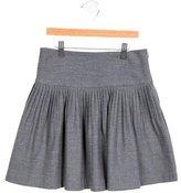 Jacadi Girls' Pleated Circle Skirt