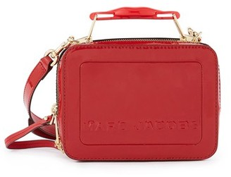 MARC JACOBS, THE The box 20 patent leather cross-body bag