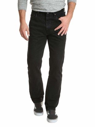 Wrangler Authentics Men's Big & Tall Classic 5-Pocket Relaxed Fit Cotton Jean