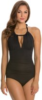 Kenneth Cole Sexy Solids High Neck One Piece Swimsuit 8118865