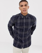 French Connection Large Over Check Shirt
