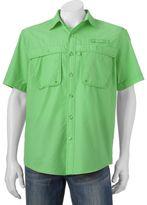 Izod Big & Tall Surfcaster Outdoor Button-Down Shirt