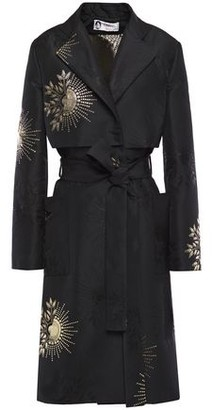Lanvin Metallic Fil Coupe Coat