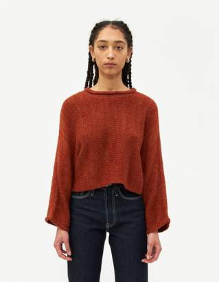 Which We Want Jen Cropped Sweater in Bronze