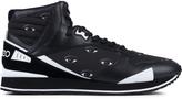 Kenzo Runmid Eyes Canvas Sneakers