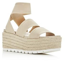 J/Slides Women's Quartz Wedge Platform Sandals