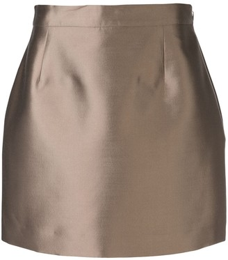 Victoria Hayes Zipped Mini Skirt