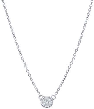Nephora 14K 0.10 Ct. Tw. Diamond Pendant Necklace