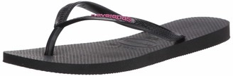 Havaianas Women's Slim Logo Pop-Up Flip Flop Sandal